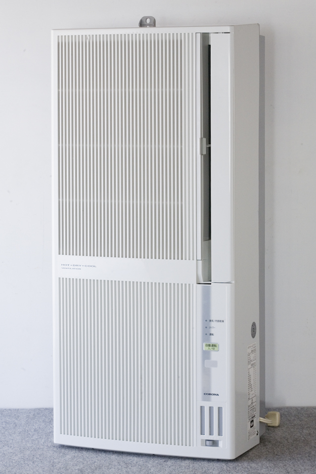 CORONA:コロナの冷暖房兼用窓用:ウインドエアコン「CWH-A1813」-01