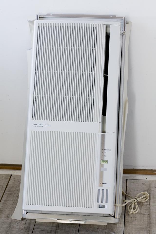 CORONA:コロナの冷暖房兼用窓用:ウインドエアコン「CWH-A1813」-16