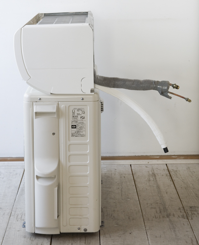 HITACHI:日立のルームエアコン、ステンレスクリーン・白くまくん「RAS-V25B」2013年製-03