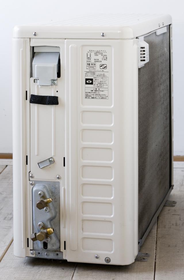 HITACHI:日立のルームエアコン、ステンレスクリーン・白くまくん「RAS-V25B」2013年製-18
