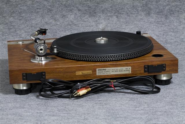 MICRO:マイクロのレコードプレーヤー「DD-5」-04