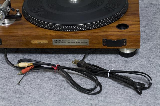 MICRO:マイクロのレコードプレーヤー「DD-5」-06