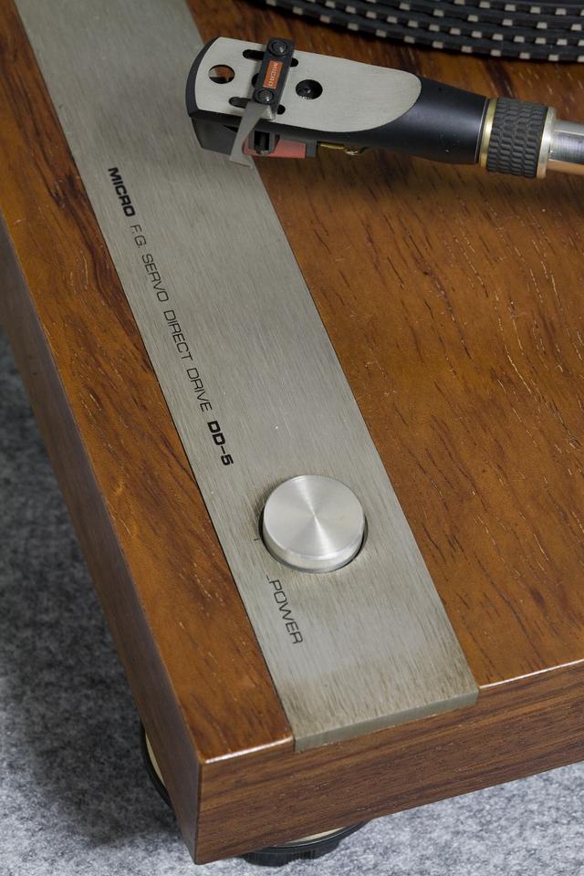 MICRO:マイクロのレコードプレーヤー「DD-5」-18
