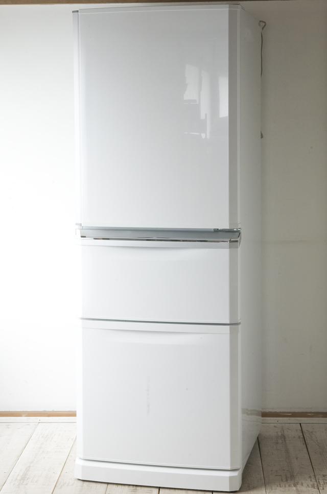 MITSUBISHI:三菱のノンフロン冷凍冷蔵庫「MR-C34X」-01