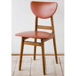 アンティークチェア、昭和レトロな小さめの椅子