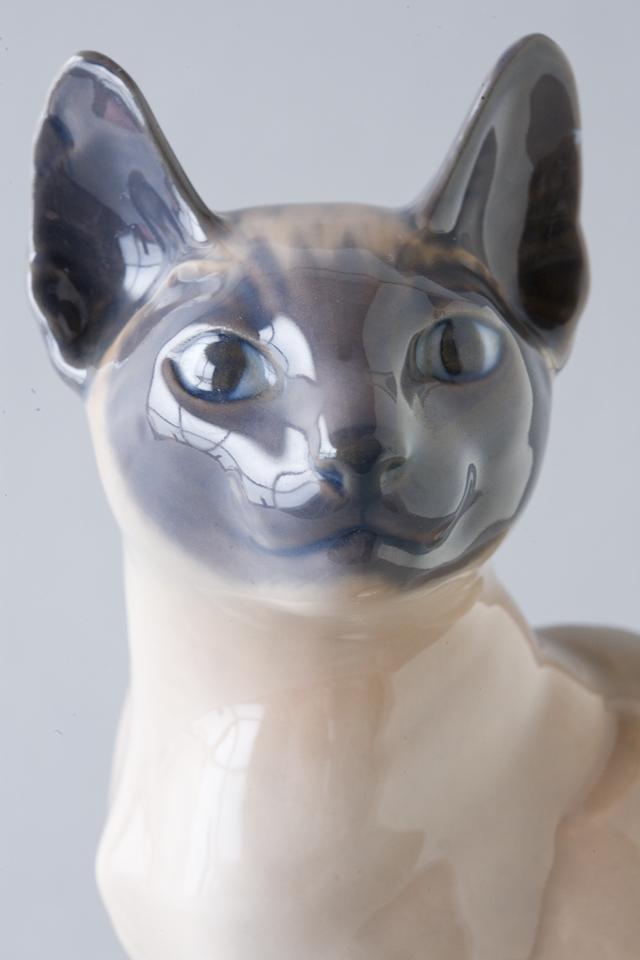 「ROYAL COPENHAGEN:ロイヤルコペンハーゲン」フィギュリンのシャム猫-05