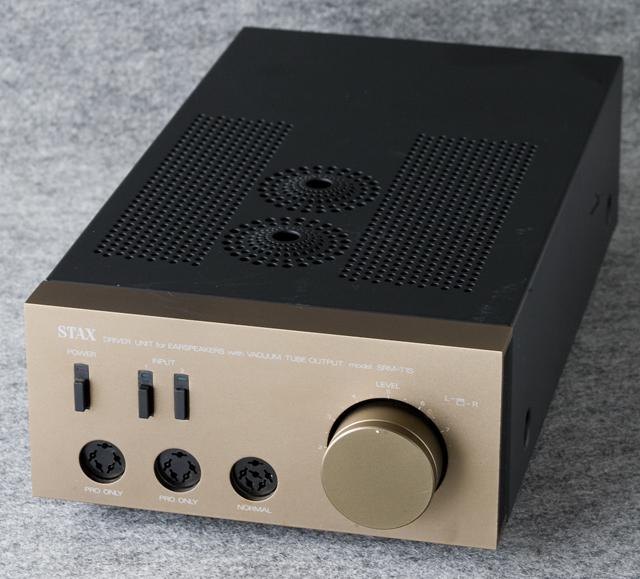 STAX:スタックスの真空管ヘッドフォンアンプ「SRM-T1S」-01