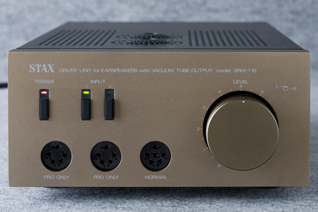 STAX:スタックスの真空管ヘッドフォンアンプ「SRM-T1S」-02