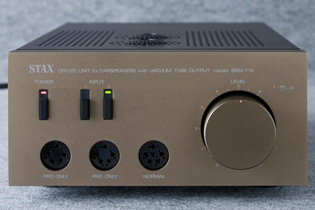 STAX:スタックスの真空管ヘッドフォンアンプ「SRM-T1S」-03
