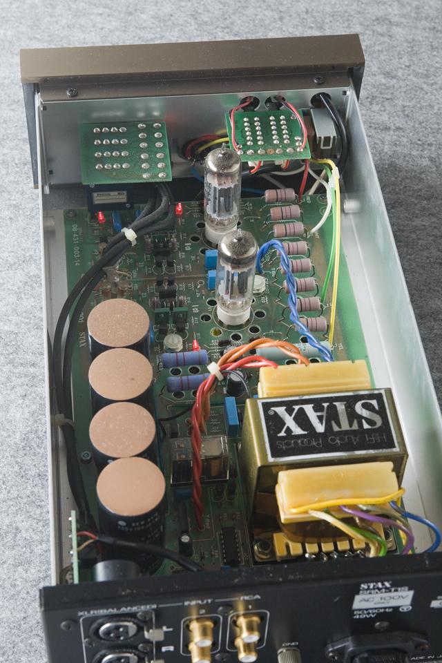 STAX:スタックスの真空管ヘッドフォンアンプ「SRM-T1S」-07