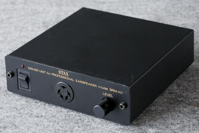 STAX:スタックスのドライバーユニット・ヘッドフォンアンプ「SRM-Xh」-01