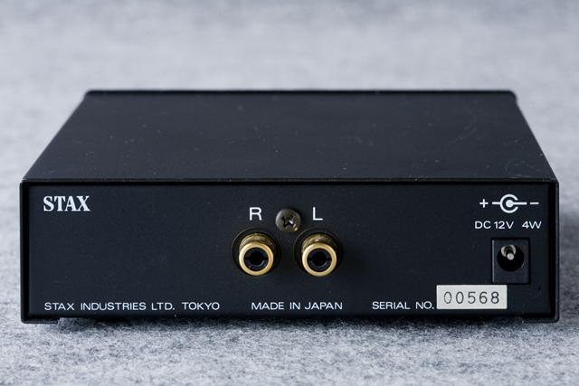STAX:スタックスのドライバーユニット・ヘッドフォンアンプ「SRM-Xh」-05