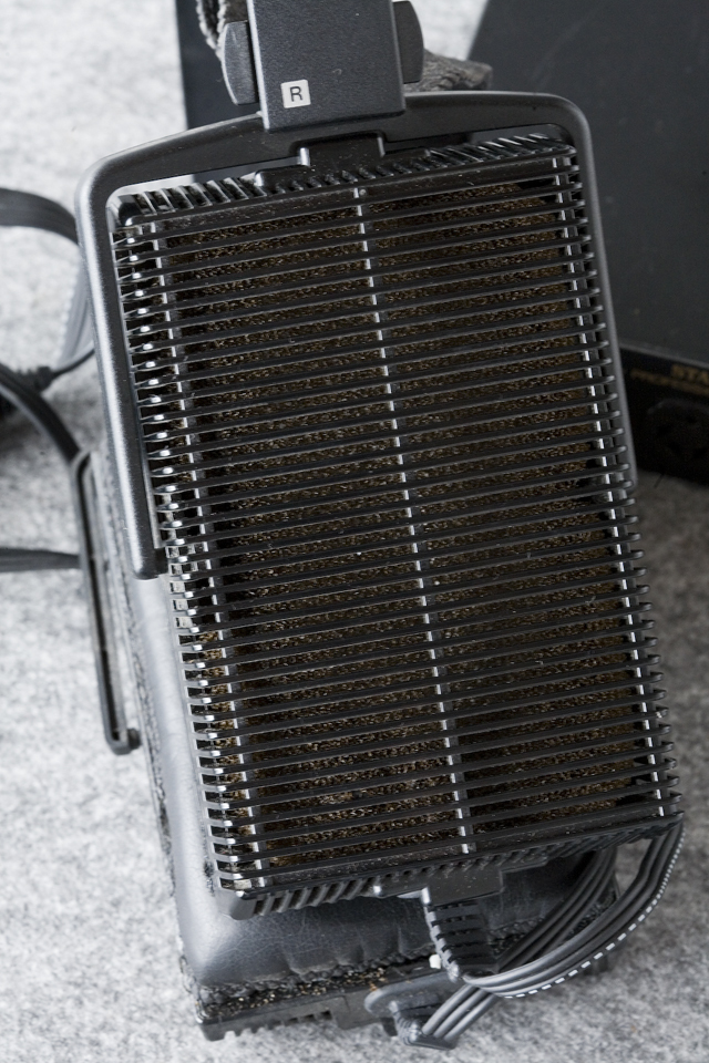 STAX:スタックスのドライバーユニット・ヘッドフォンアンプ「SRM-Xh」-09