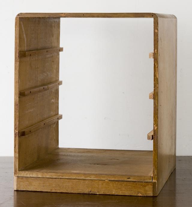 アンティークな古い木製小引出-03