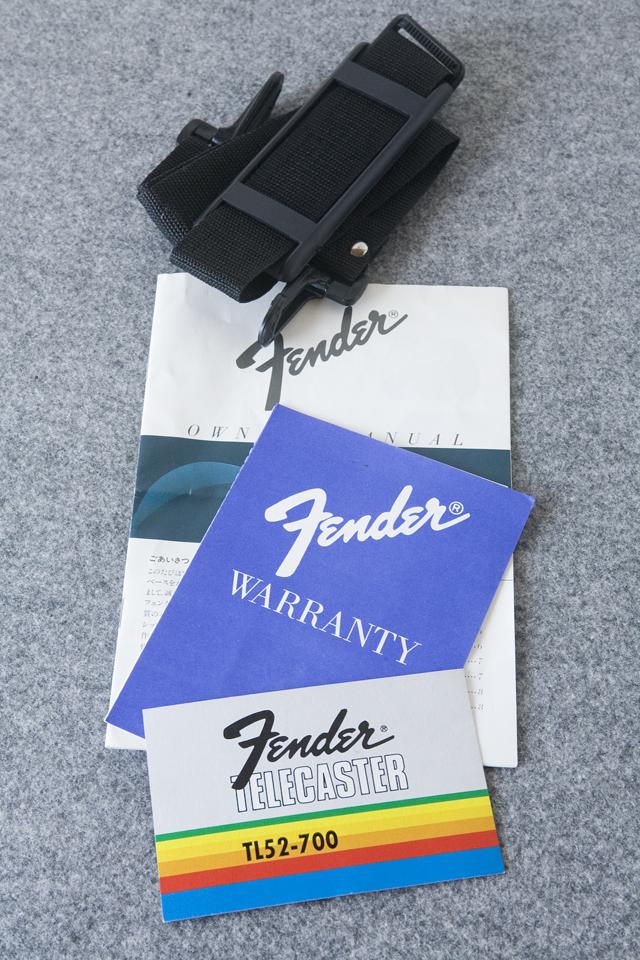 Fender:フェンダージャパンのTELECASTER:テレキャスター「TL52-700」-35
