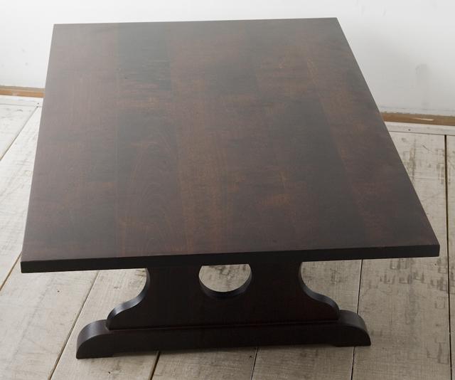 北海道民芸家具の座卓(折りたたみ式)「HM410」-01