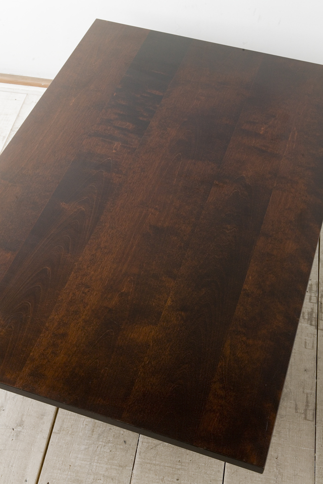 北海道民芸家具の座卓(折りたたみ式)「HM410」-02