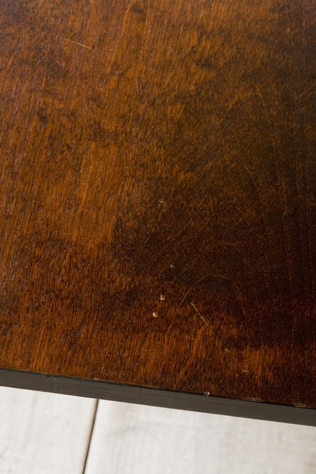 北海道民芸家具の座卓(折りたたみ式)「HM410」-06