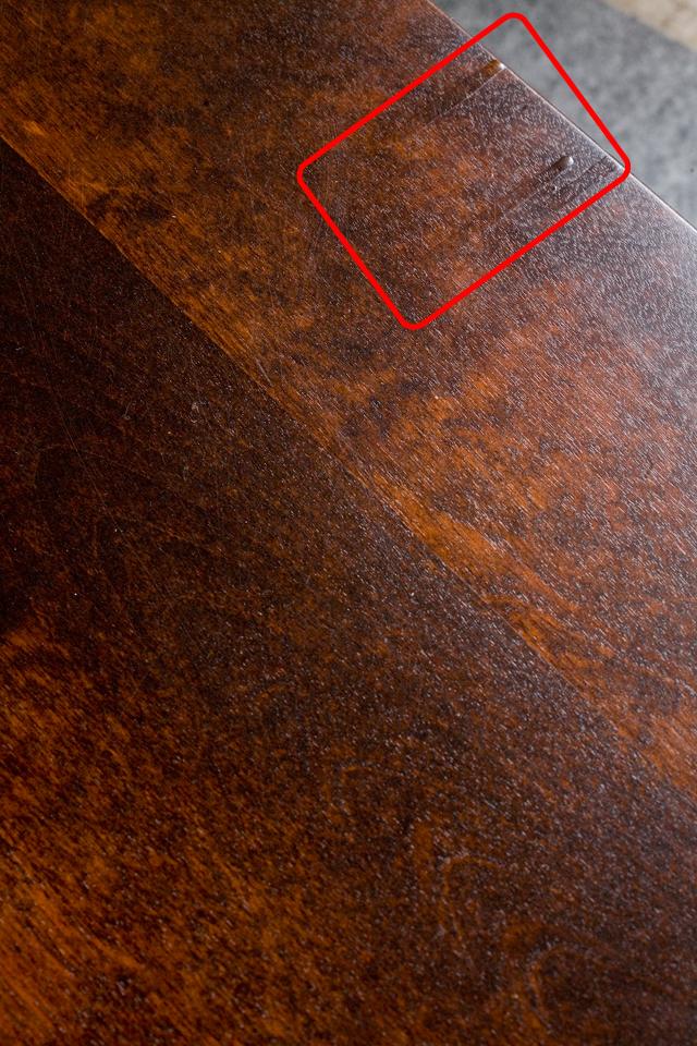 北海道民芸家具の座卓(折りたたみ式)「HM410」-08a