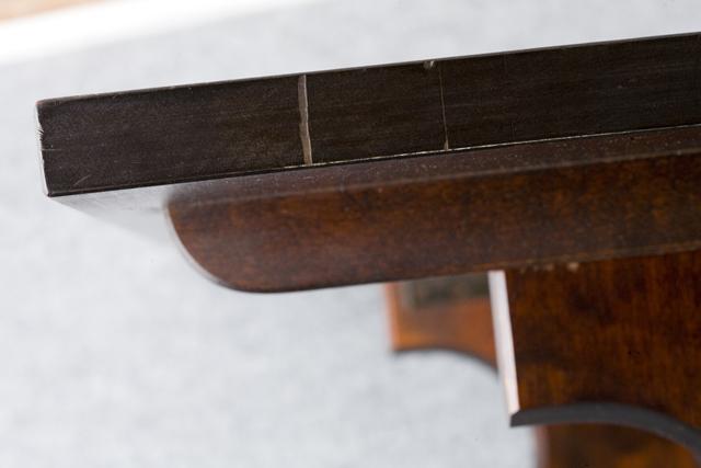 北海道民芸家具の座卓(折りたたみ式)「HM410」-09
