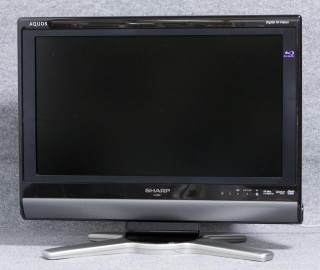SHARP:シャープのBD:ブルーレイレコーダー内臓20V型ワイド液晶テレビ:TV、AQUOS:アクオス「LC-20DX1」-01