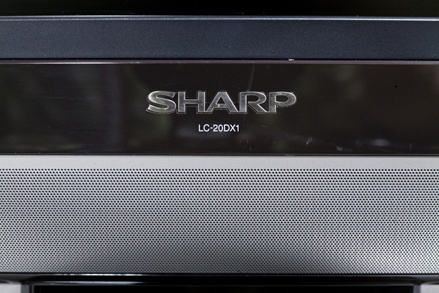 SHARP:シャープのBD:ブルーレイレコーダー内臓20V型ワイド液晶テレビ:TV、AQUOS:アクオス「LC-20DX1」-06