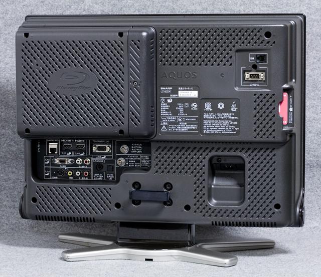 SHARP:シャープのBD:ブルーレイレコーダー内臓20V型ワイド液晶テレビ:TV、AQUOS:アクオス「LC-20DX1」-08