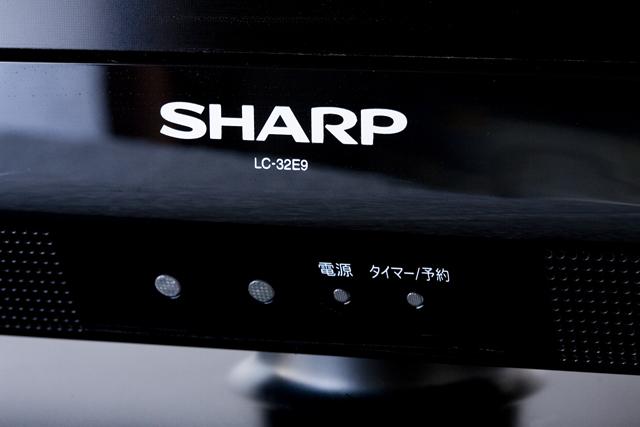 SHARP:シャープの32V型液晶テレビ:TV、AQUOS:アクオス「LC-32E9」-02