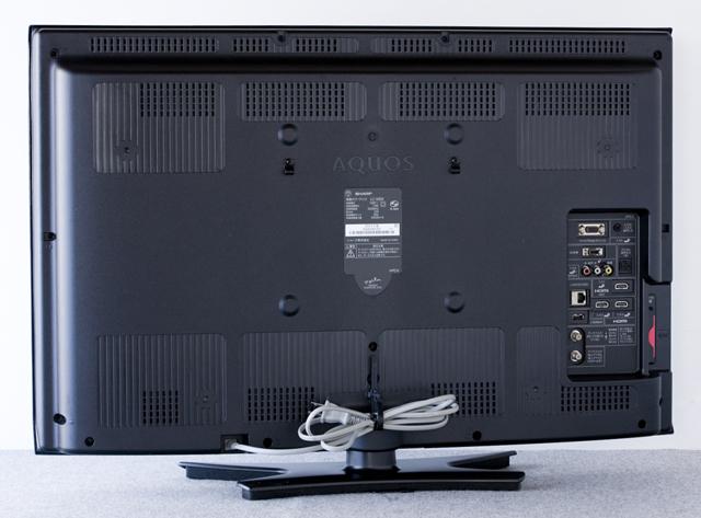 SHARP:シャープの32V型液晶テレビ:TV、AQUOS:アクオス「LC-32E9」-04