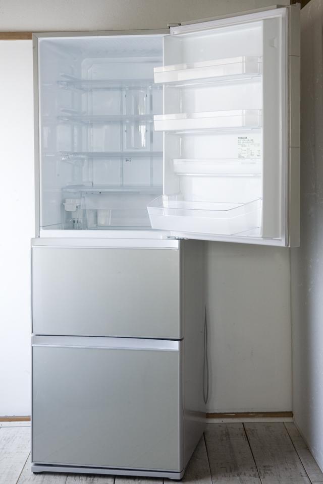 TOSHIBA:東芝の3ドア冷蔵庫「GR-G38SXV」-07