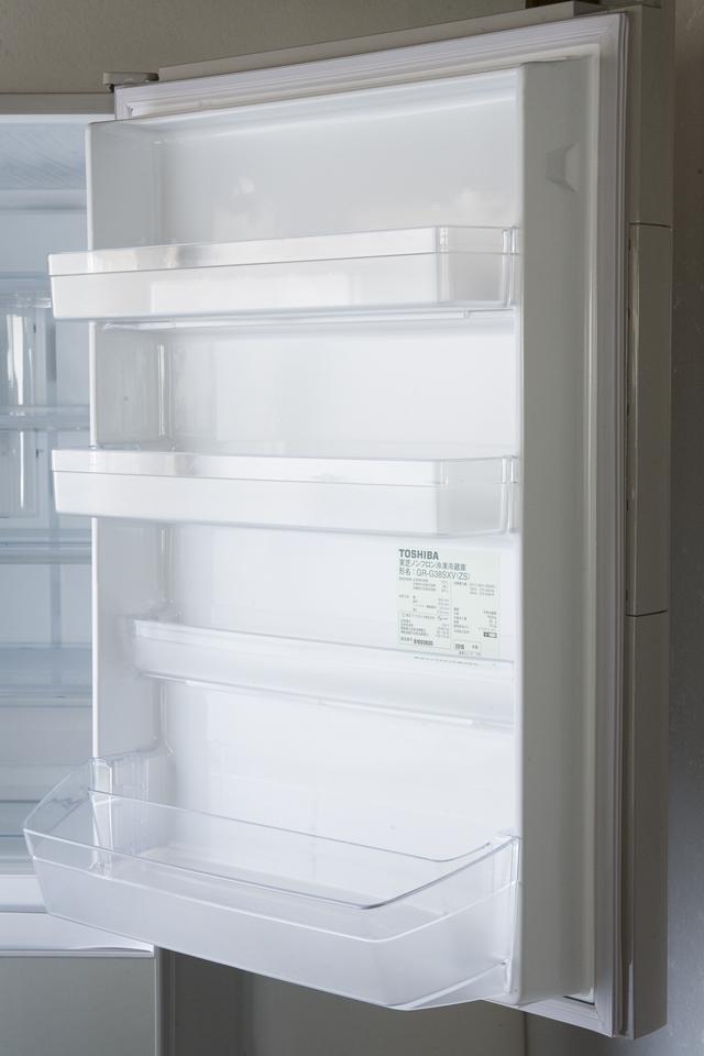 TOSHIBA:東芝の3ドア冷蔵庫「GR-G38SXV」-11