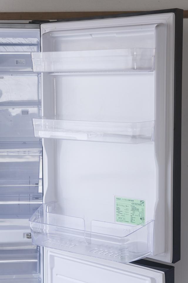 AQUA:アクアの2ドア冷蔵庫「AQR-SD27A」-09