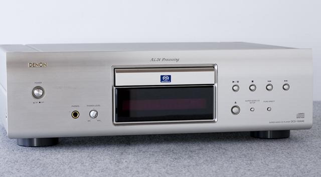 DENON:デノンのSACD:スーパーオーディオCDプレーヤー「DCD-1500AE」-02
