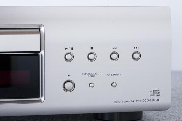 DENON:デノンのSACD:スーパーオーディオCDプレーヤー「DCD-1500AE」-06
