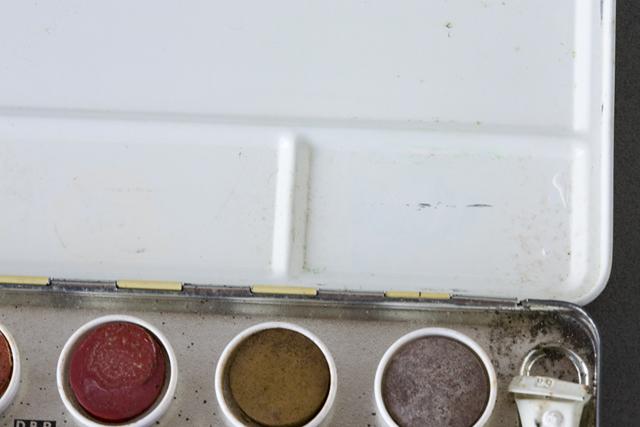 Pelikan:ペリカンのドイツ製「固形水彩絵の具12色セット」-08