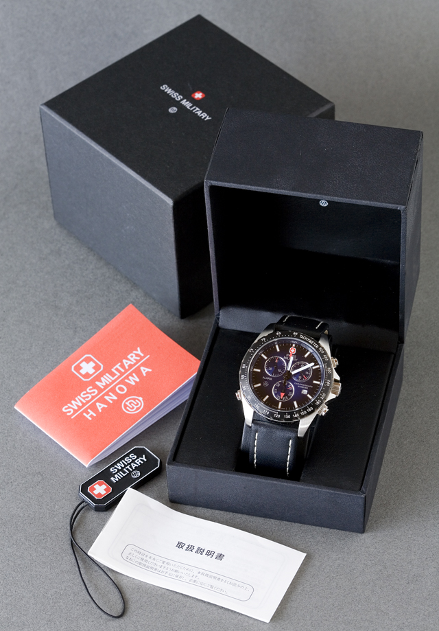 SWISS MILITARY:スイスミリタリークロノグラフ腕時計NAVIGATOR:ナビゲーター「MILITARY-173」-01