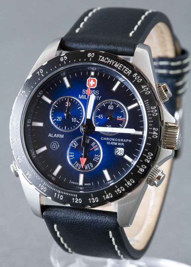 SWISS MILITARY:スイスミリタリークロノグラフ腕時計NAVIGATOR:ナビゲーター「MILITARY-173」-02
