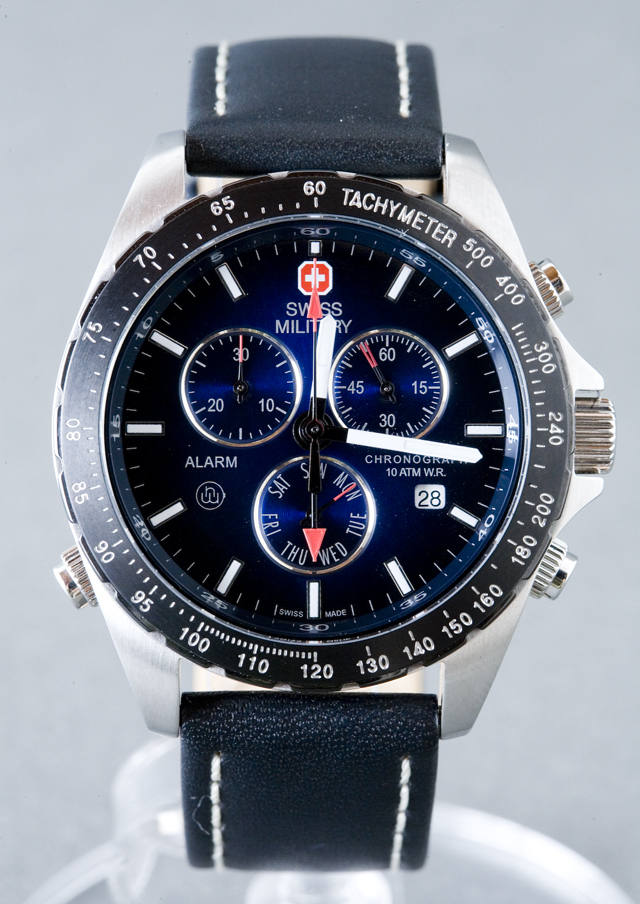 SWISS MILITARY:スイスミリタリークロノグラフ腕時計NAVIGATOR:ナビゲーター「MILITARY-173」-03