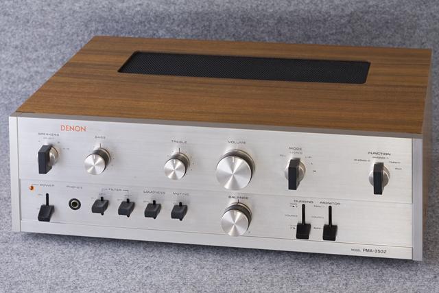 DENON:デノンのプリメインアンプ「PMA-350Z」-01