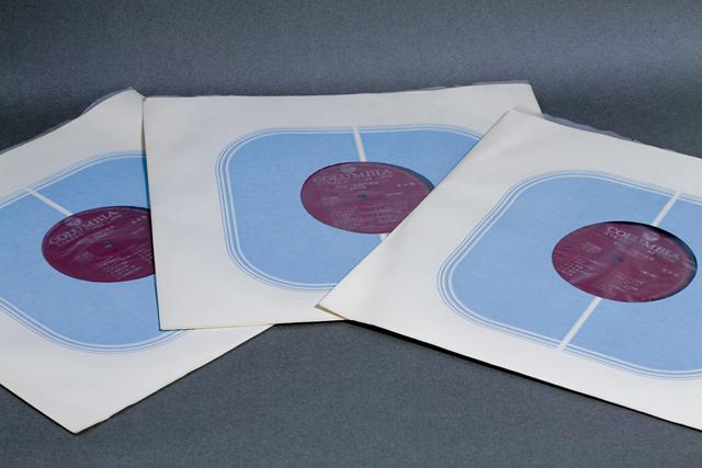 Columbia:コロンビアの3枚組LPレコードBOX:ボックス、総集篇「沖縄の音楽」CLS-5202-4-09