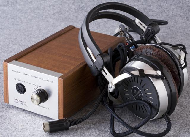 Pioneer:パイオニアのヘッドホン:SE-100とアダプター:JB-100-01