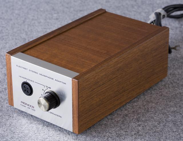Pioneer:パイオニアのヘッドホン:SE-100とアダプター:JB-100-02