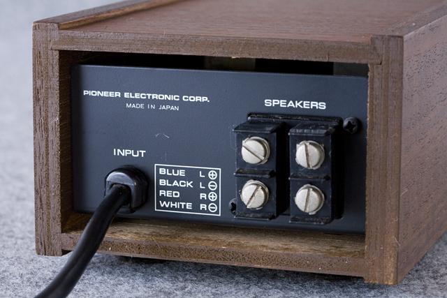 Pioneer:パイオニアのヘッドホン:SE-100とアダプター:JB-100-05
