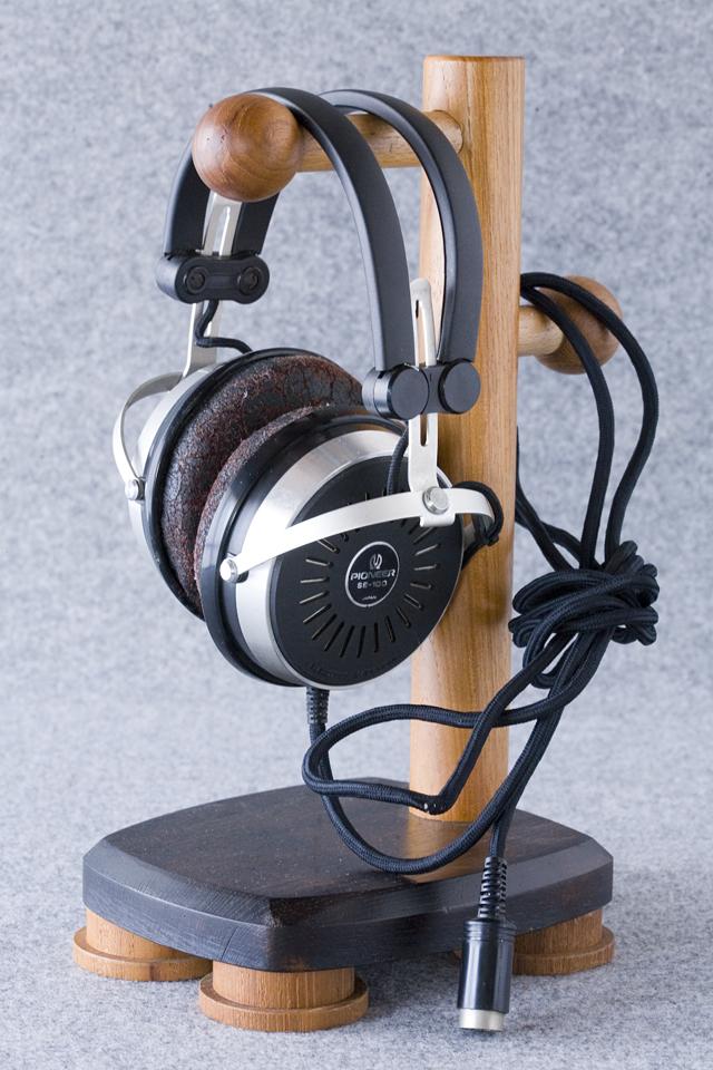 Pioneer:パイオニアのヘッドホン:SE-100とアダプター:JB-100-09