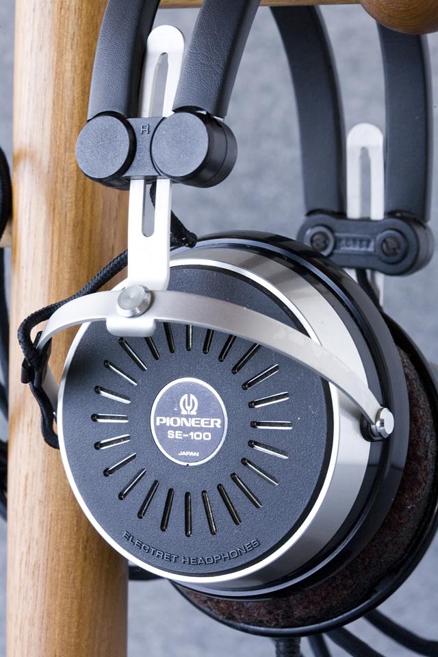 Pioneer:パイオニアのヘッドホン:SE-100とアダプター:JB-100-11
