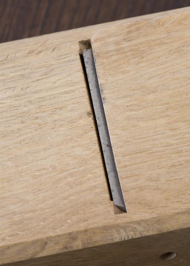 大工道具、仕上鉋(千代弘)と砥石のセット-08