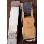 大工道具、仕上鉋(千代弘)と砥石のセット