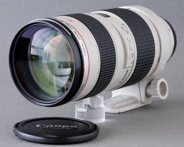 Canon:キャノンの一眼レフカメラ用の交換望遠レンズ「EF70-200mm f/2.8L USM」-01