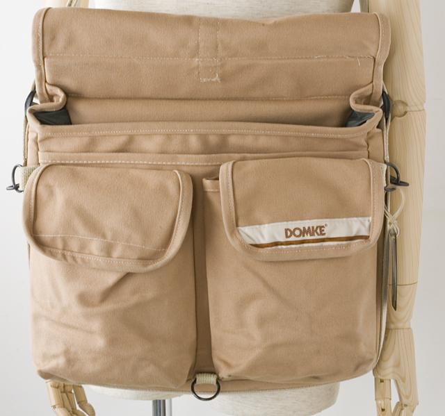 DOMKE:ドンケのアメリカ製新聞記者用取材バッグ「F-802」-05