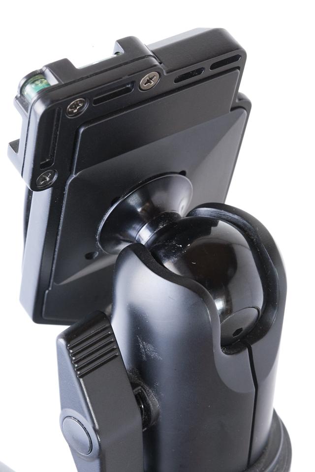 GIOTTOS:ジオットスのカーボン三脚「MT8350」とVelbon:ベルボンの自由雲台「QHD-63Q」のセット-13
